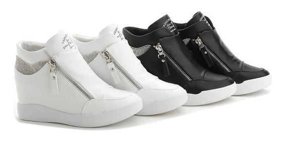 Sneaker Feminino Fujin 90276 Importado Frete Grátis