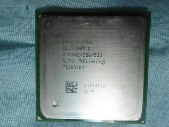 Intel 4 Celeron D 2.66ghz : Slnv Carta Registrada