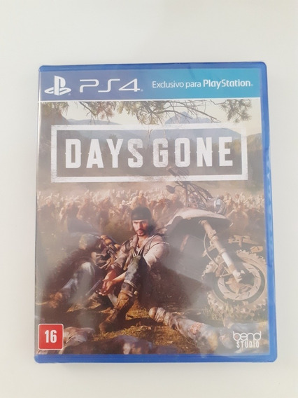 Jogo Ps4 Days Gone Midia Fisica Lacrado Playstation