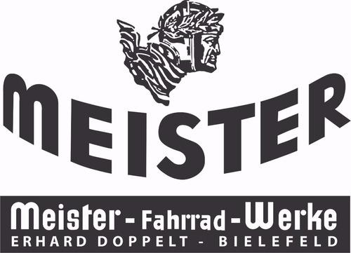 Meister Bicicleta Alemã - Decalques À Base D'água