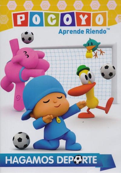 Pocoyo Aprende Riendo Hagamos Deporte Serie Dvd