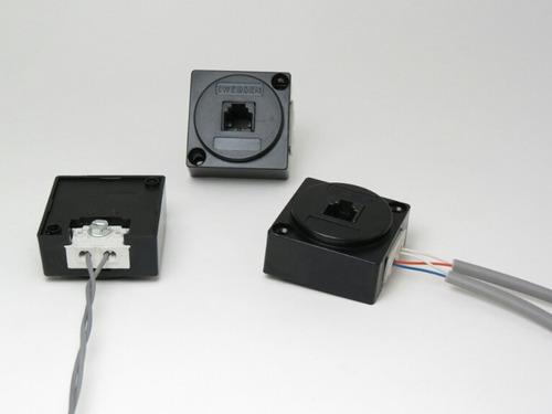 Modular Fi / Idc 2 Vias 1 Linha C/gel Promoção 110 Pcas
