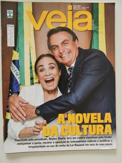 Veja #2671 Bolsonaro E Regina Duarte - Anitta