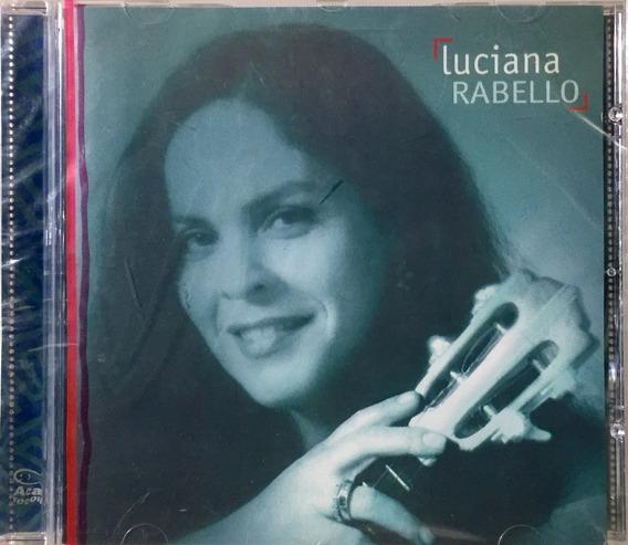 Luciana Rabello - De Bem Com A Vida - Cd Acari Novo Lacrado