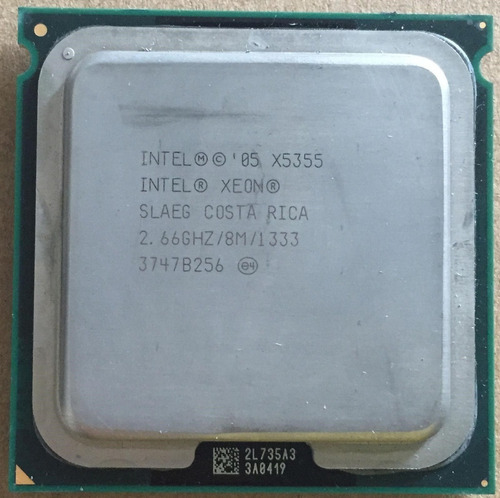 Procesador Intel® Xeon® X5355 2.66 Ghz Socket 771