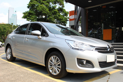 Citroen C4 Lounge Origine 1.6 Turbo Flex Aut. 2017 Prata