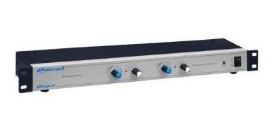 Crossover Osp 2 Oneal Processador De Audio Osp2 Osp-2 Stereo