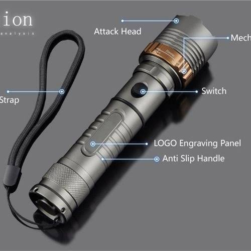 Lanterna Strong Light Flashlight Hml420000 T6