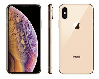 iPhone Xs Apple, Dourado, 256gb, 5,8, Camera 12mp Mt9k2bz/a
