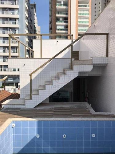 Casa Residencial Com 3 Dormitórios 3 Suítes, 2 Vagas Fixas  À Venda, 158 M² Por R$ 1.360.000 - Ponta Da Praia - Santos/sp - Ca1792
