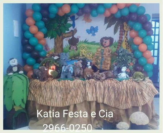 Decoração De Festa Infantil Floresta - Aluguel