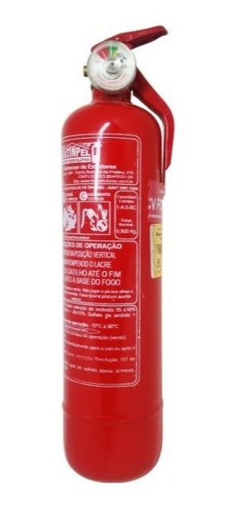 Extintor Abc Automotivo 1kg Universal / Fino Válido 12/2024