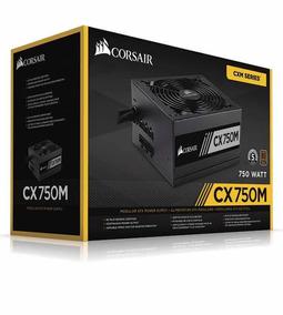 Fonte Corsair Cx750m Semi-modular 80 Plus