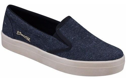 Tênis Barth Shoes Iate Slip On Preto
