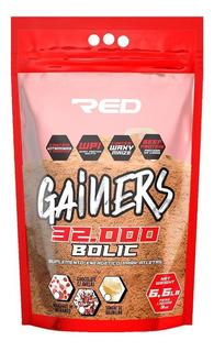 Gainers Bolic Mass 32000 (3kg) - Red Series - Morango