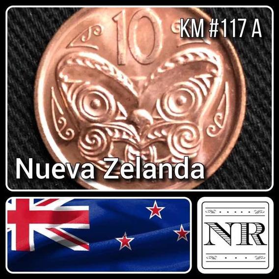 Nueva Zelanda - 10 Cents - Año 2006 - Km #117a - Oceanía