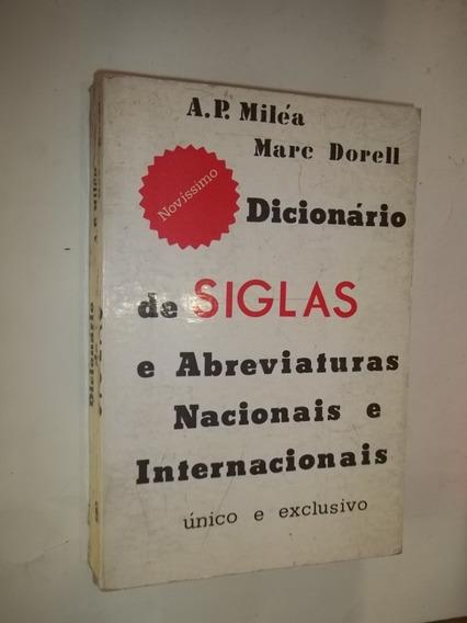 Dicionário De Siglas E Abreviaturas Nacionais E Inter