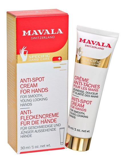 Creme Rejuvenescedor Para Mãos Mavala Anti-spot Cream For Hands 30ml