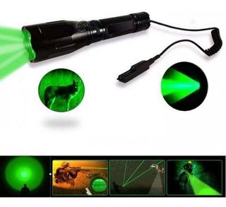 Lanterna Led Verde Acionamento Remoto Suporte Cano 12mm -nfe