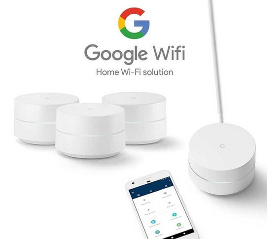 Nuevo Google Wifi 2 Kitx3 Uni. Access Point+repetidor+router