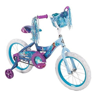 Bicicleta Niña Disney Frozen Ruedas De Entrenamiento U S A