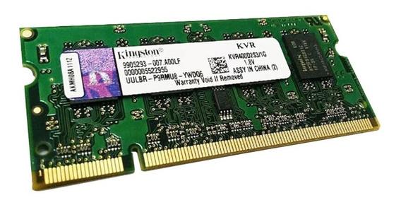 Memoria Notebook Kingston Sodimm 1gb Ddr2 400 Mhz Despiece!