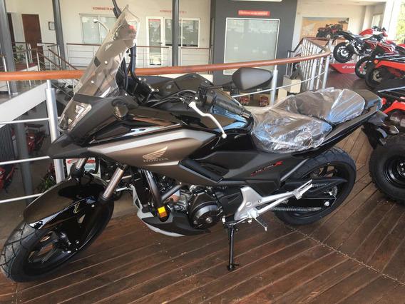Honda Nc 750 X 2020 0.km Negro Brilloso