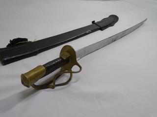 Sable Antiguo De Caballería Ejército Mexicano Original