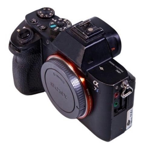 Câmera Sony A7s Ii + Metabones + 2 Baterias + 1 Carregador