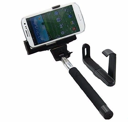 Bastao Retratil Selfie Monopod Controle No Bastao