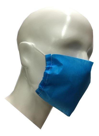 Cubrebocas Antifluidos Desechable Paquete Con 150 Piezas.