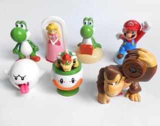Lote X7 Super Mario Bros Coleccion Mc Donalds Mcdonalds