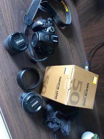 Nikon D5300 Com 2 Lentes