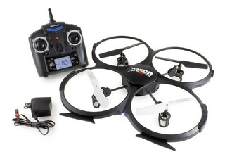 Drone Udi Rc U818a 2.4 Ghz Ch6 Axis Gyro Rc Quadcopter