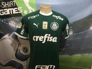 Camisa Do Palmeiras Usada No Brasileiro 2019.