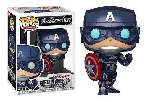 Funko Pop Captain America 627 Avengers Marvel Magic4ever