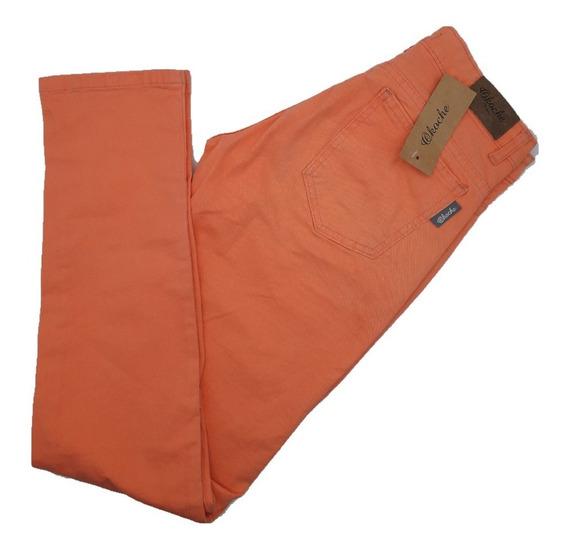 Pantalon Mujer Jeans Moda Semi Elastizado Okoche Ok6370