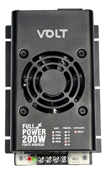 Fonte Nobreak Full Power 200w 12v/8a - Volt