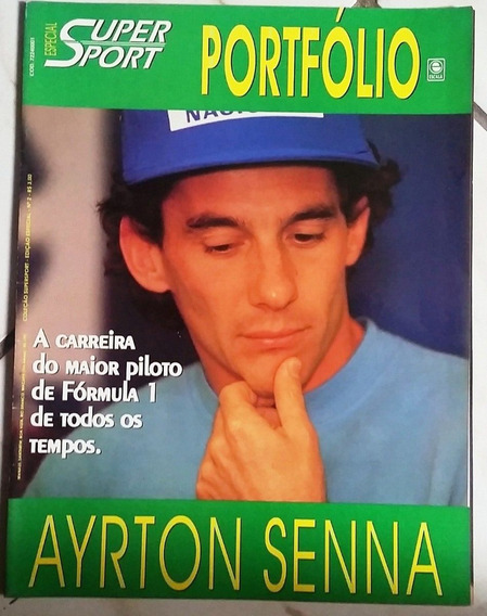 Revista Super Sport Especial - Portfólio Ayrton Senna
