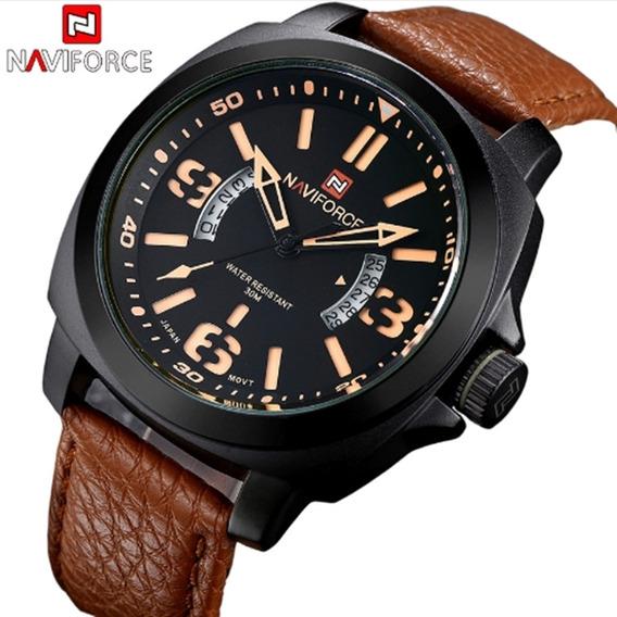Relógio Masculino De Pulso Naviforce 9062 Original Barato