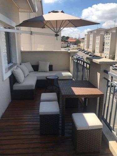 Apartamento Com 3 Dormitórios À Venda, 97 M² Por R$ 469.000,00 - Jardim Amazonas - Campinas/sp - Ap0631