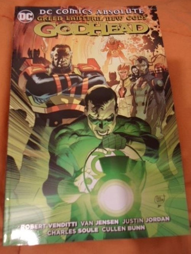 Dc Comics Green Lantern Godhead Absolute Latino