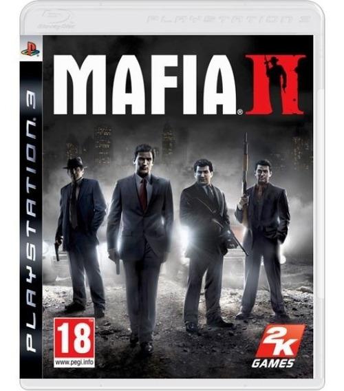 Mafia 2 Ii - Mídia Física / Ps3
