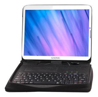"""Tablet Gadnic Indus Phone + Funda Teclado 7"""" 16GB blanca con memoria RAM 1GB"""