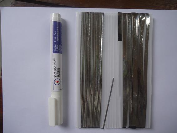 Combo Tab Wire(30mt)+ Bus Wire(5mt)+1 Caneta Fluxo