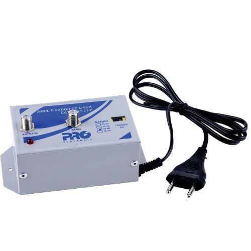 Amplificador De Linha 25db Pqal2500