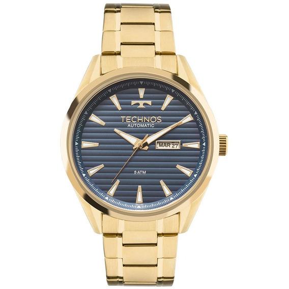 Relógio Technos Automatico Masculino 8205nx/4a