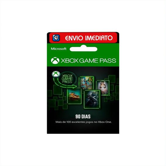 Cartão Xbox Game Pass Ultimate 3 Meses ( 90 Dias )