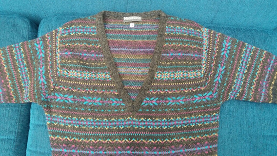 Sweater Montecarlo. Largo Ideal Para Calzas. Talle 1