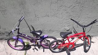 Bicicleta Niña/niño Rodado 14 Y 16 Listas Para Disfrutar